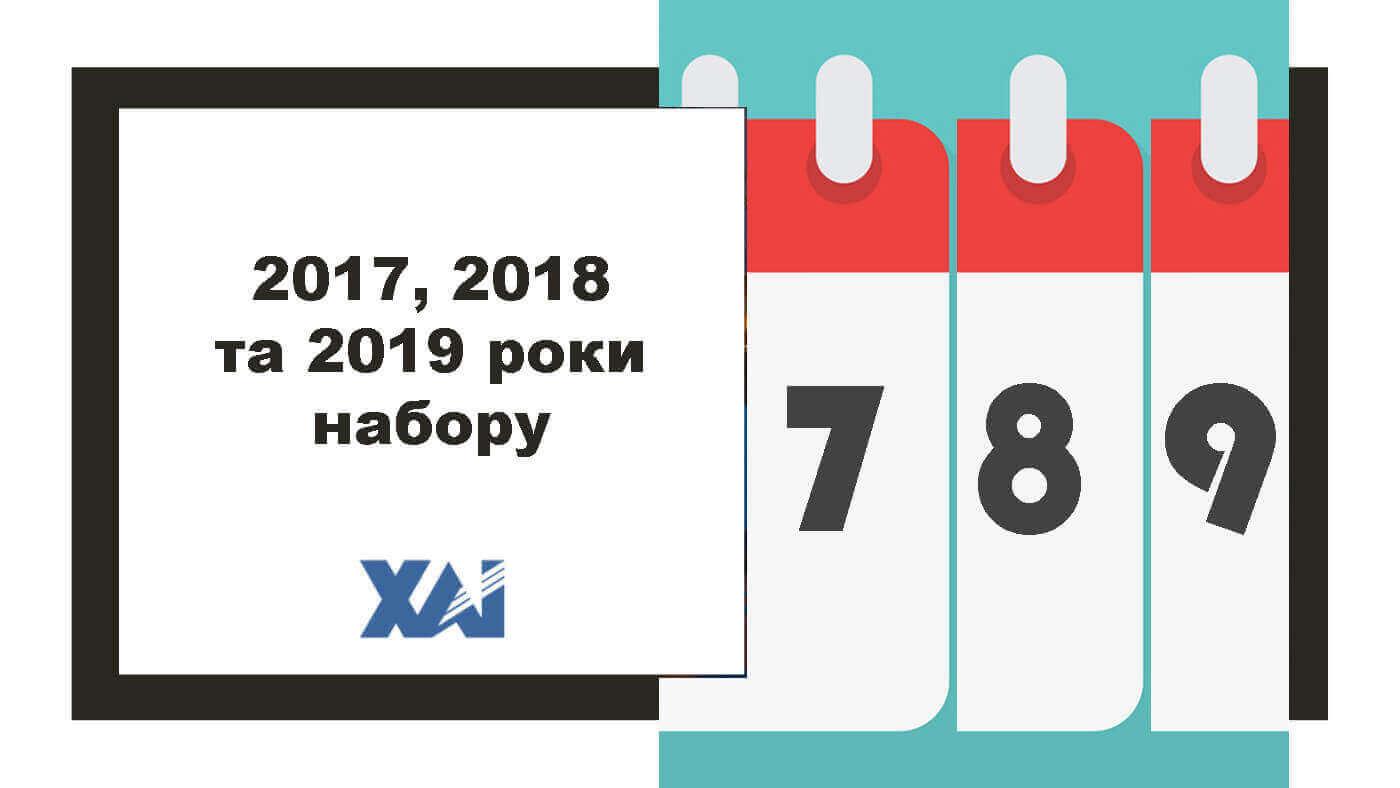 2017-2019 рік набору